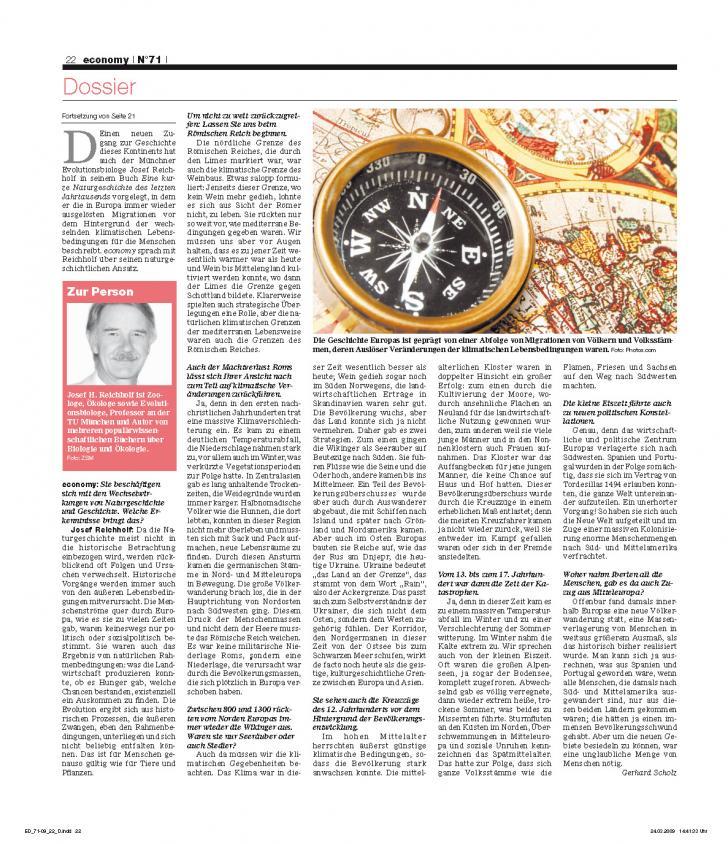 Heft Ausgabe Nr. 71 - Seite 22