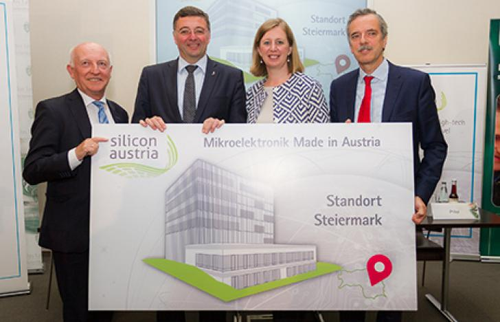 Silicon Austria mit Forschungszentrum für Mikroelektronik in der Steiermark