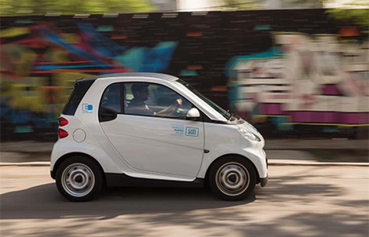 Carsharing spielt zentrale Rolle bei E-Mobilität