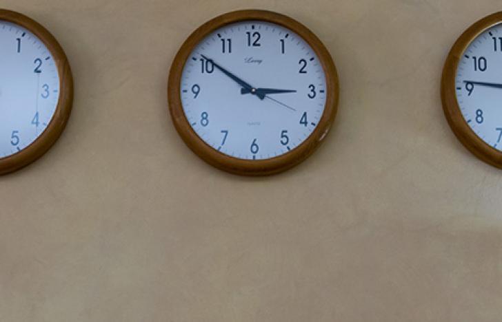 Wenn Objekte durch die Zeit reisen