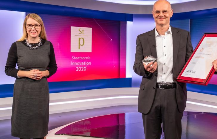 Lenzing gewinnt 40. Staatspreis Innovation