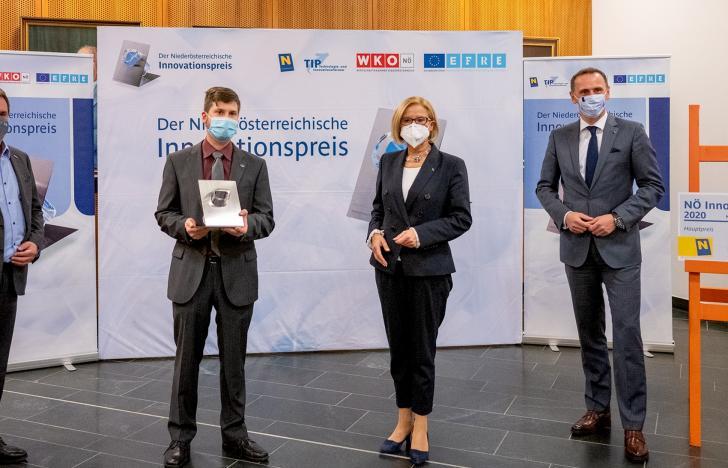 Intelligente Kunststoffe gewinnen NÖ-Innovationspreis 2020